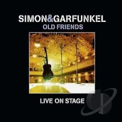 Simon & Garfunkel - Old Friends Live On Stage CD Cover Art