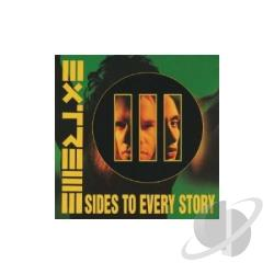 Extreme - Three Sides to Every Story CD Cover Art