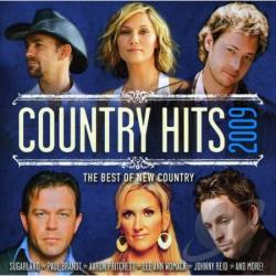 Country Hits 2009 CD Cover Art