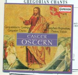 Gregorian Chants - Easter: Gregorian Chants CD Cover Art