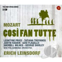 Leinsdorf / Mozart / New Phil Orch / Price - Wolfgang Amadeus Mozart: Cosi fan tutte CD Cover Art
