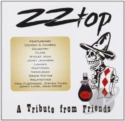 ZZ Top: A Tribute from Friends CD Cover Art