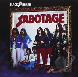 Black Sabbath - Sabotage CD Cover Art