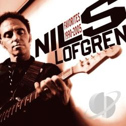 Lofgren, Nils - Favorites 1990-2005 CD Cover Art