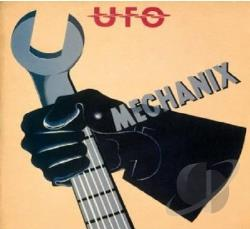 U.F.O. - Mechanix CD Cover Art
