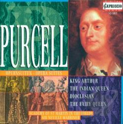Academy Of ST. Martin / Marriner / Purcell - Purcell: Opera Suites CD Cover Art