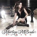 Mcbride, Martina - Eleven CD Cover Art