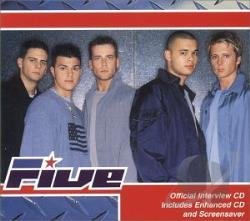 5ive - Official Interview CD CD Cover Art
