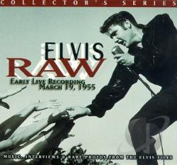 Presley, Elvis - Raw Elvis: Live 1955 CD Cover Art