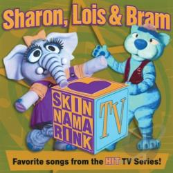 Sharon, Lois & Bram - Skinnamarink TV CD Cover Art