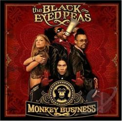 Black Eyed Peas - Monkey Business CD Cover Art