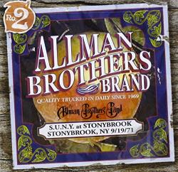 Allman Brothers Band - S.U.N.Y. at Stonybrook: Stonybrook, NY 9/19/71 CD Cover Art