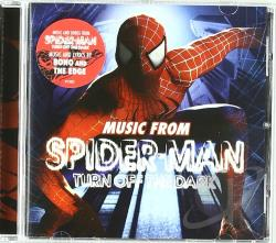 Spider-Man: Turn Off the Dark CD Cover Art