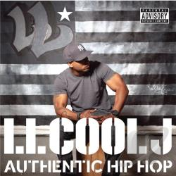 L.L. Cool J - Authentic Hip Hop CD Cover Art