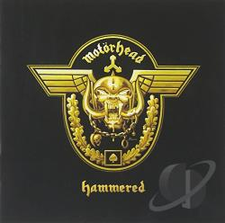 Motorhead - Hammered CD Cover Art