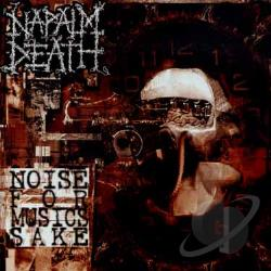 Napalm Death - Noise for Music's Sake CD Cover Art