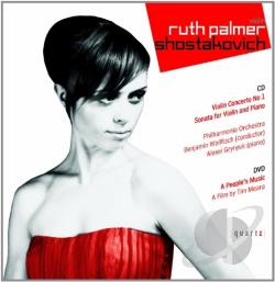 Palmer, Ruth: vln / Wallfisch - Ruth Palmer Performs Shostakovich CD Cover Art