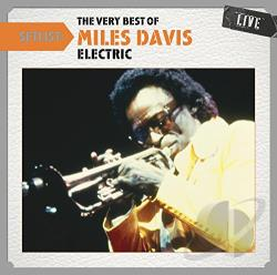 Davis, Miles - Setlist: The Very Best of Miles Davis (Electric) Live CD Cover Art