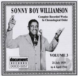 Sonny Boy Williamson I - Complete Recorded Works, Vol. 3 (1939 - 1941) CD Cover Art