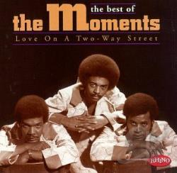 Moments - Love on a Two-Way Street and Other Hits CD Cover Art