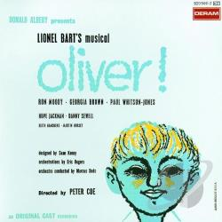 Original London Cast - Oliver! CD Cover Art