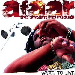 Afaar - Write To Live CD Cover Art