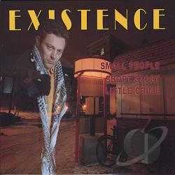 Existence - Small People Short Story Little Crime CD Cover Art