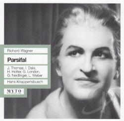 Dalis / Hotter / Knappertsbusch / Thomas / Wagner - Parsifal CD Cover Art