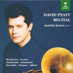 Pyatt, David - David Pyatt - Recital / Martin Jones CD Cover Art
