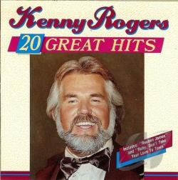 Rogers, Kenny - 20 Great Hits CD Cover Art