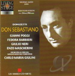 Donizetti, Gaetano - Gaetano Donizetti: Fedora Bar CD Cover Art