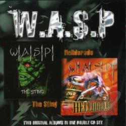 W.A.S.P. - Sting/Helldorado CD Cover Art