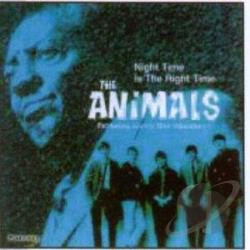 Animals - Night Time Is The Right Time CD Cover Art