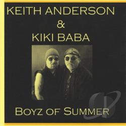 Keith Anderson & Kiki Baba - Boyz Of Summer CD Cover Art