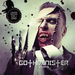 Gothminister - Utopia CD Cover Art
