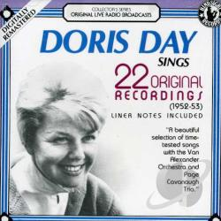 Day, Doris - Sings 22 Original Recordings CD Cover Art