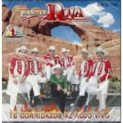 Banda Roja de Jose Loen - 16 Corridazos Al Rojo Vivo CD Cover Art