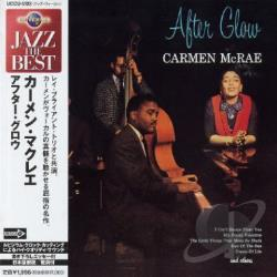 McRae, Carmen - After Glow CD Cover Art