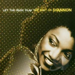 Shannon - Let the Music Play: The Best of Shannon CD Cover Art