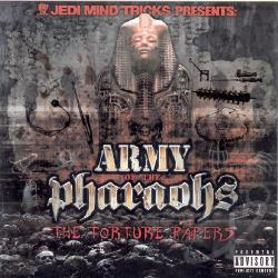 Jedi Mind Tricks - Army of the Pharaohs: The Torture Papers CD Cover Art