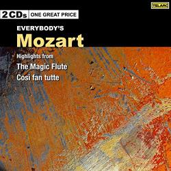 Mozart: Magic Flute & Cosi Fan Tutte - Everybody's Mozart: Highlights from The Magic Flute; Cosi fan Tutte CD Cover Art