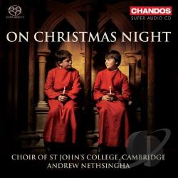Choir Of St John's C - On Christmas Night CD Cover Art