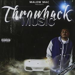 Malow Mac - Throwback Music CD Cover Art