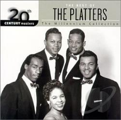 Platters - 20th Century Masters - The Millennium Collection: The Best of The Platters CD Cover Art