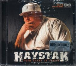 Haystak - From Start to Finish CD Cover Art