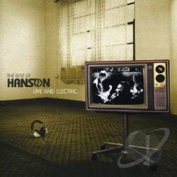Hanson - Best Of: Live & Electric CD Cover Art