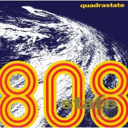 808 State - Quadrastate CD Cover Art