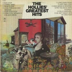 Hollies - Hollies' Greatest Hits LP Cover Art