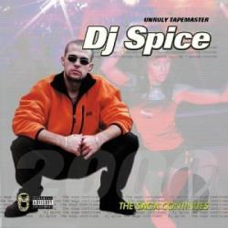 Dj Spice - Saga Continues CD Cover Art