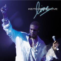 Sweat, Keith - Keith Sweat Live CD Cover Art